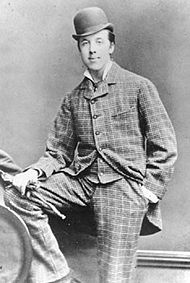 Oscar Wilde at Oxford.