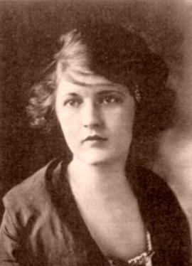 Zelda Fitzgerald, 1917.