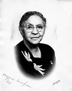 Bayard Rustin's Grandmother Julia Rustin.