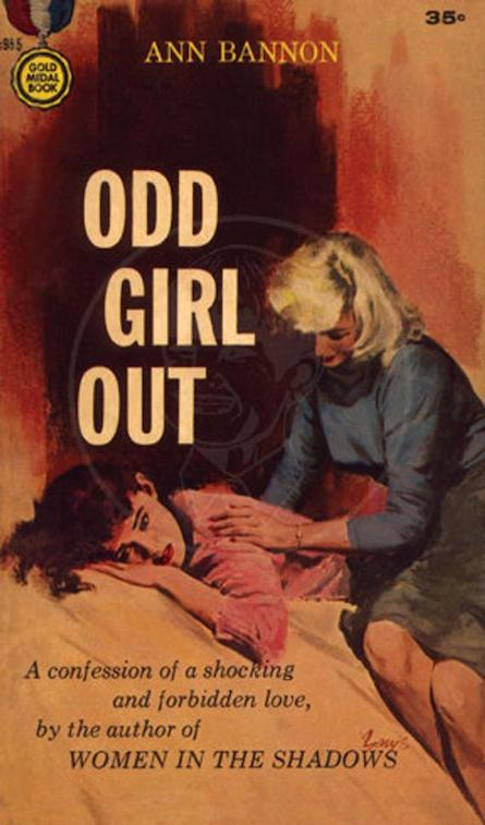 Odd Girl out  by Ann Bannon (1957), first in the Beebo Brinker Chronicles.