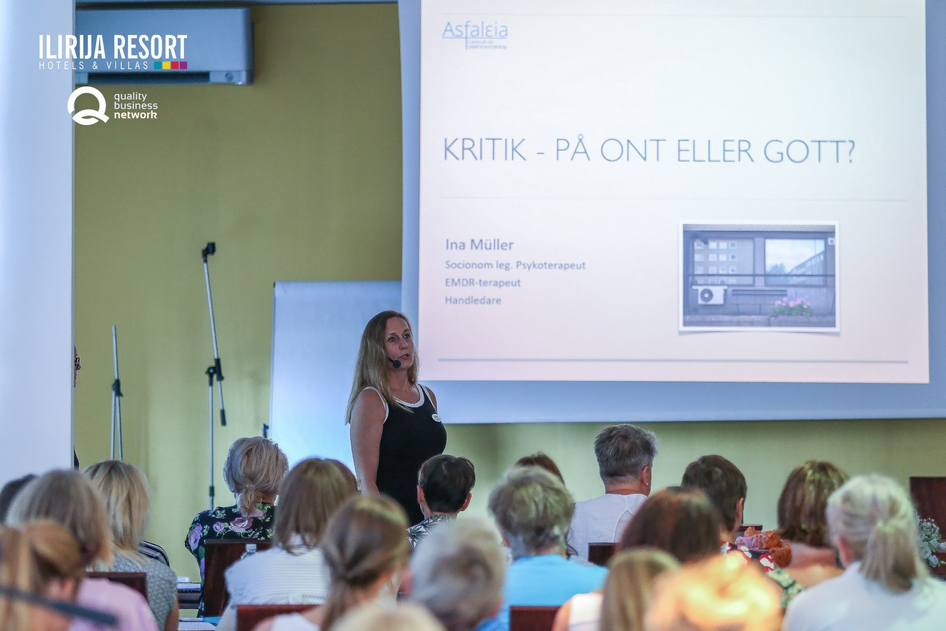 Kritik - på ont eller gott?   Ina Müller