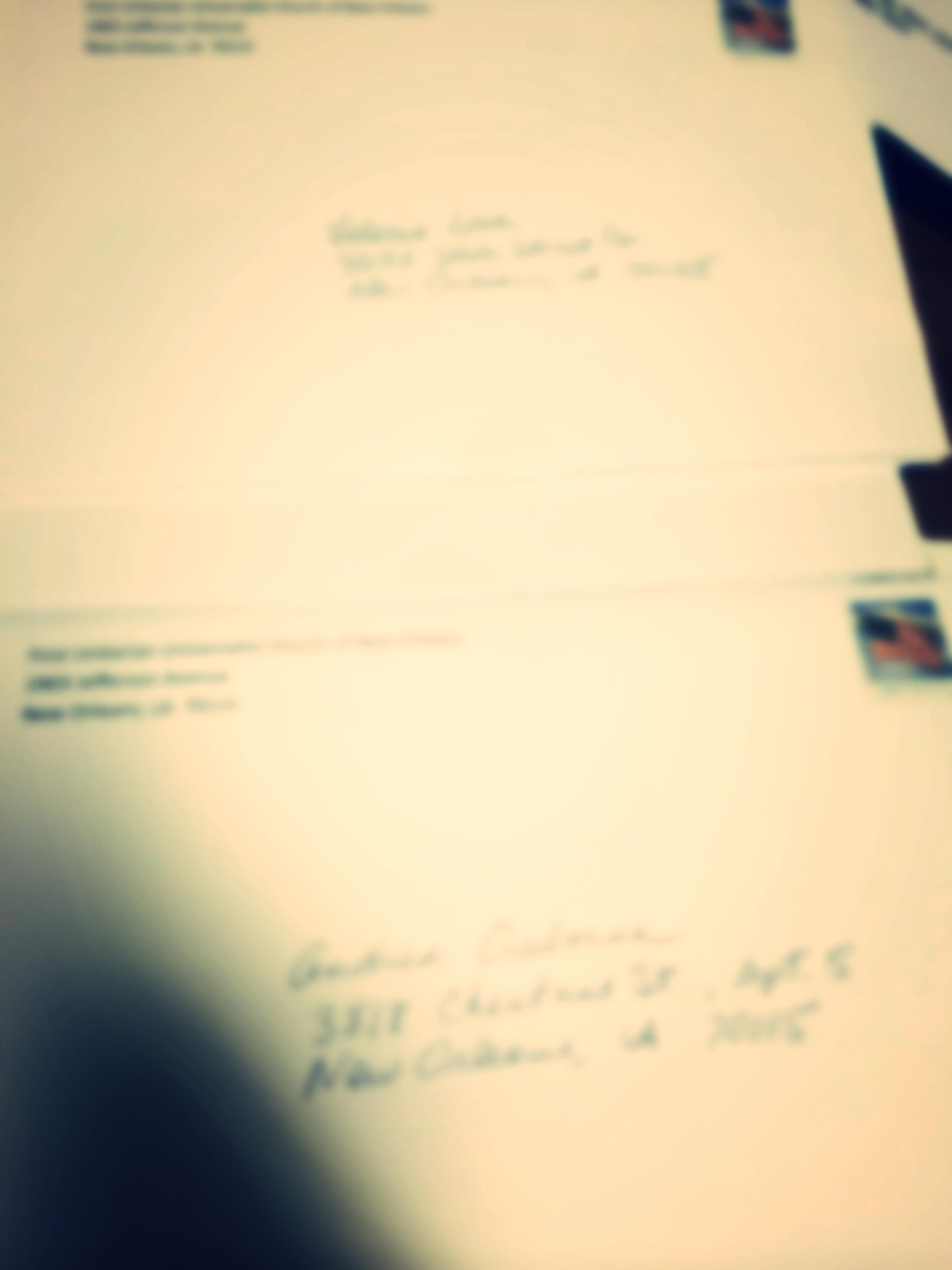 Through sleek email newsletters or handwritten mailers.