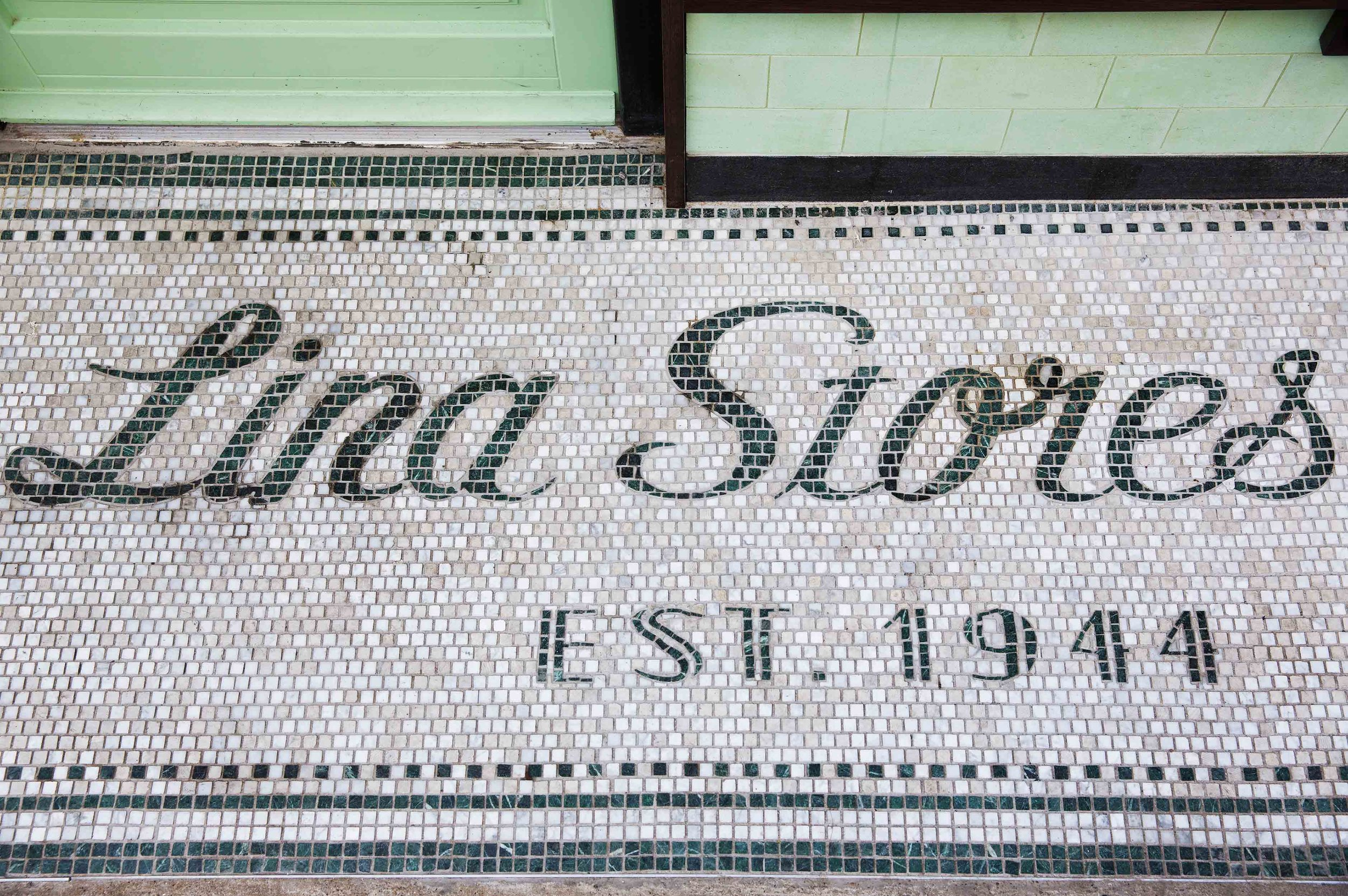 Opened in Brewer Street, Soho in 1947 by Lina an Italian immigrant from Genoa