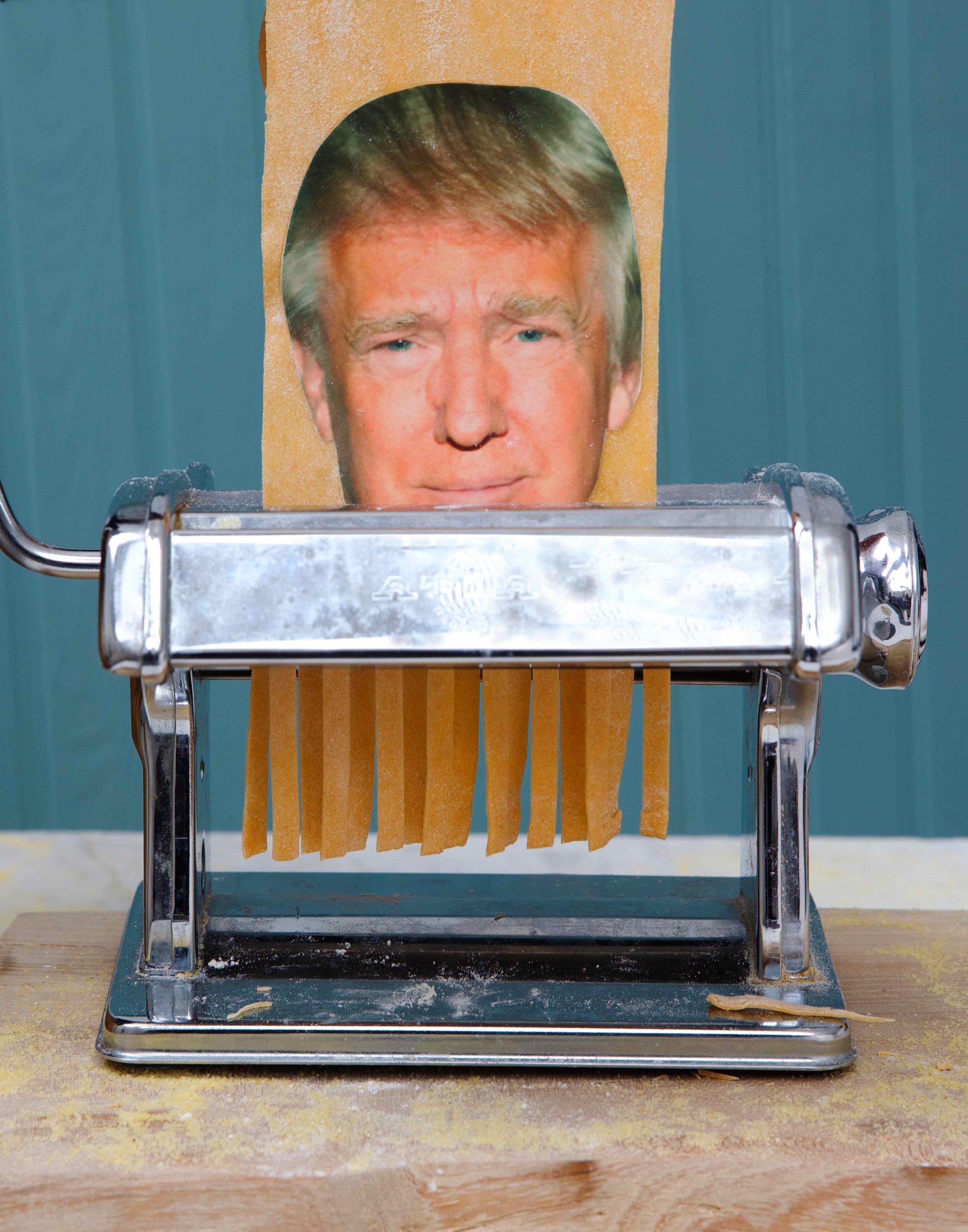 Trump for shredding