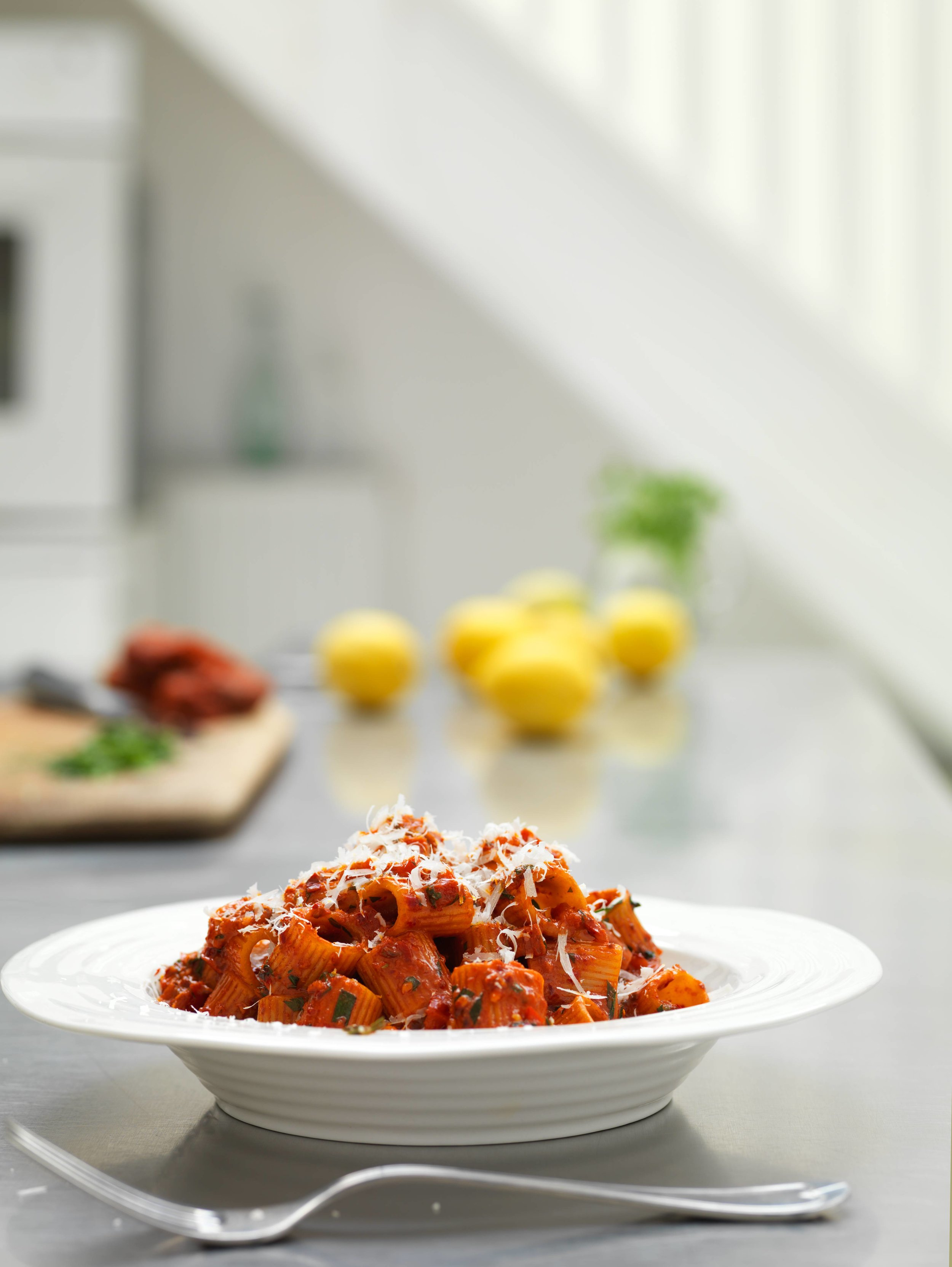 Loving n'duja whether on pizza or pasta