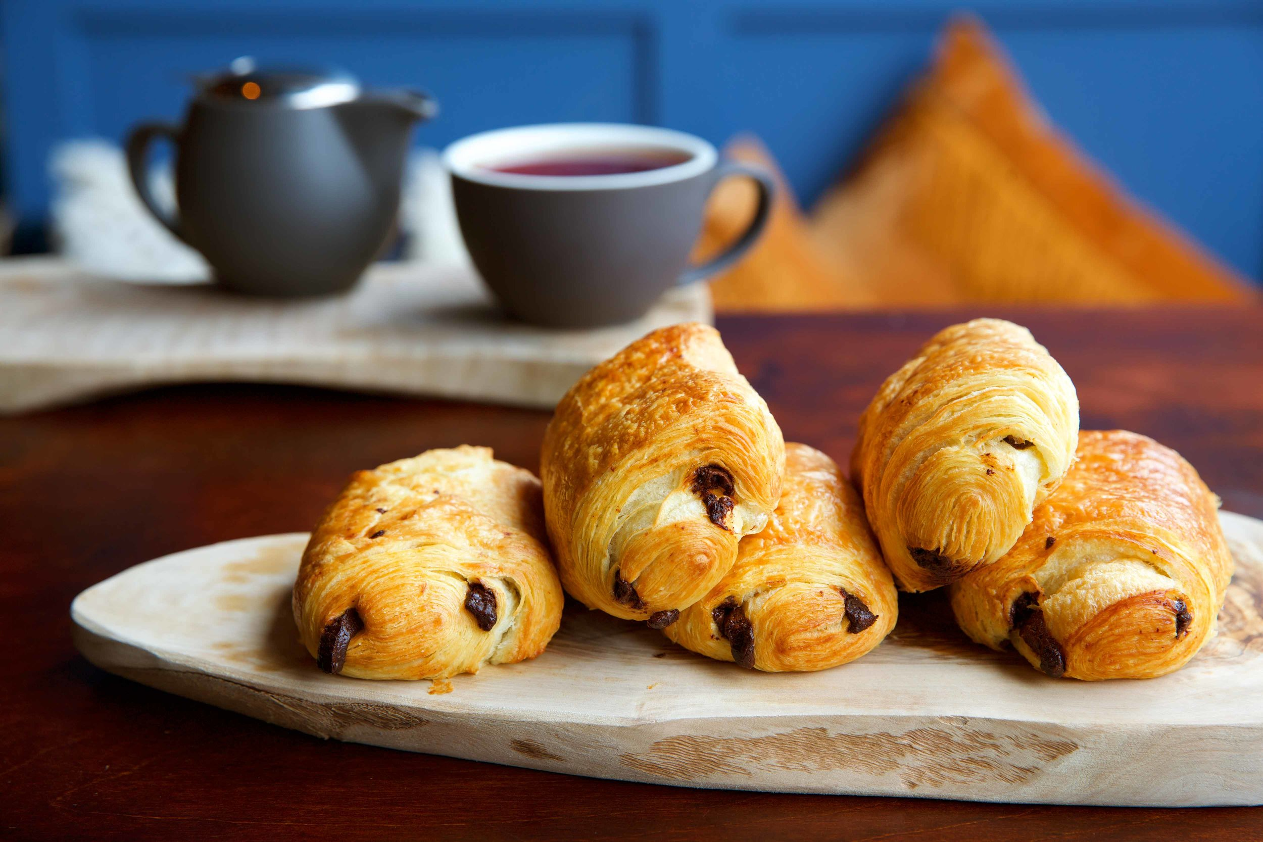 Pain au chocolat. You can't better French pastries, all that butter!