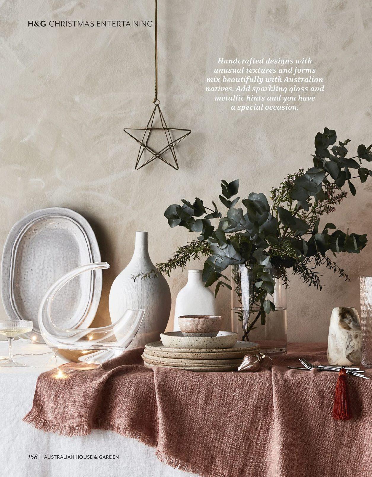 Featured in House & Garden magazine