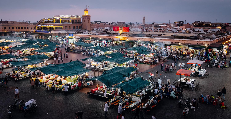 Jema El-Fña square, Marrakech