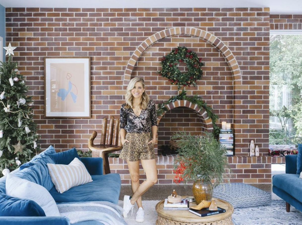 Cedar & Suede - The gorgeous Carlene Duffy from Cedar & Suede showcases our Abbey Road Limited Edition art in her stunning newly renovation living room - article at nine.com.au. A very cool vibe…