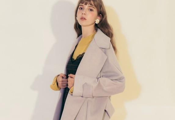PAZZO質感時髦剪裁長版厚外套