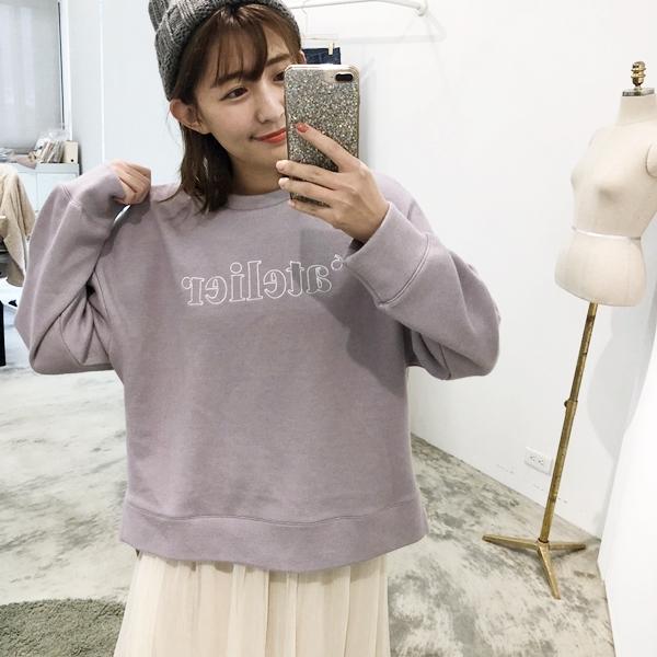 甜點女孩特殊棉質刺繡大學T +未來新品仙女裙