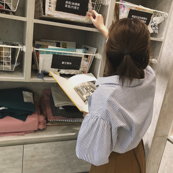 PAZZO荷葉袖口排釦襯衫-率性打摺口袋寬裙 (2).jpg