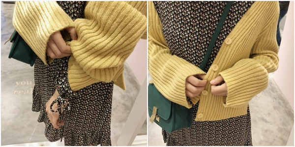 PAZZO甜氛質感坑條針織外套-浪漫碎花拋袖荷葉下擺洋裝 (2).jpg