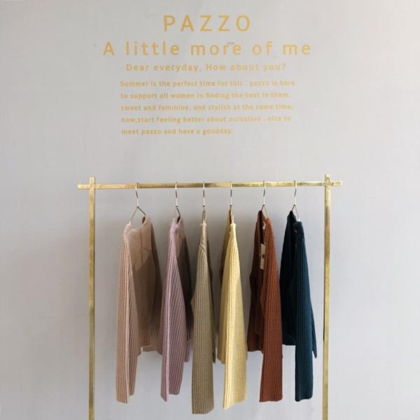 PAZZO甜氛質感坑條針織外套-浪漫碎花拋袖荷葉下擺洋裝 (1).jpg