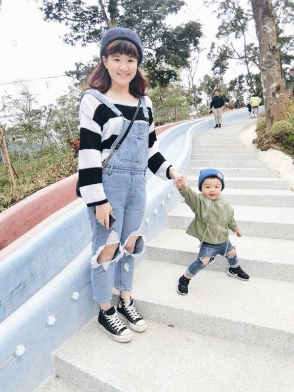 從大學穿到當媽媽的Pazzo!總能讓我與眾不同❤️❤️(全身都Pazzo _Whay Shan Shi
