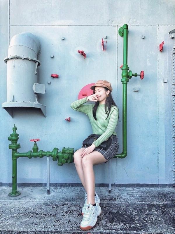 短裙❤️ 從pazzo成立就一直是小粉絲~ 風格和服裝每每都能打動我的心😻 每年特賣會也都有支持🙈 今天出的春裝和新年特企也有入手,真心美 _Naomi Liao