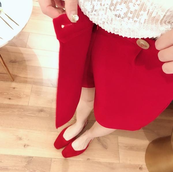 透肌感蕾絲壓褶上衣 + 設計感特殊壓褶褲裙 (11).jpg