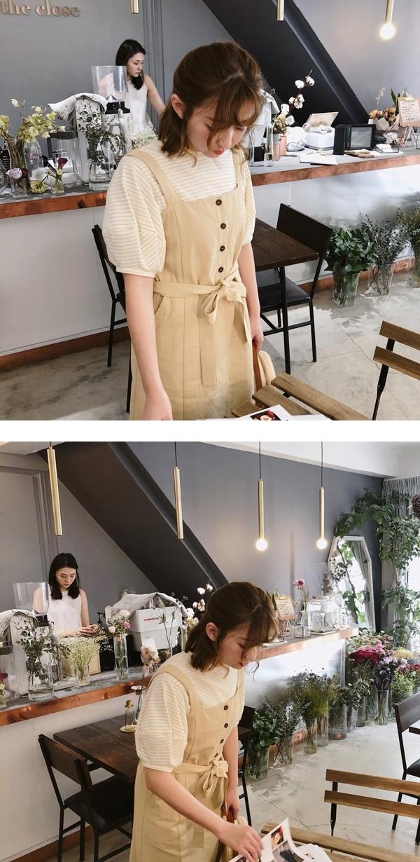 PAZZO_百搭條紋拋袖設計上衣_清新排釦綁帶洋裝-.jpg