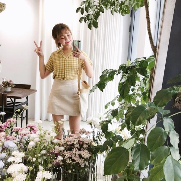 清新自在棉麻格紋襯衫_清新自在感花瓣邊A字裙10 (12).jpg