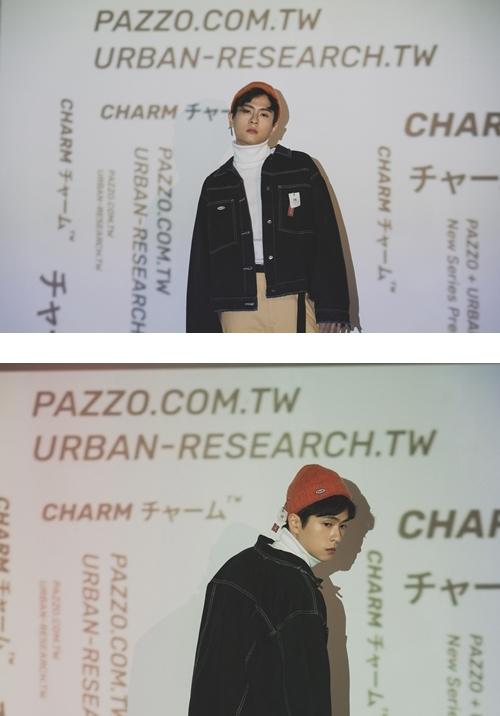 pazzo look/   URBAN RESEARCH x PAZZO 標籤毛帽  +     URBAN RESEARCH x PAZZO 個性排釦車線牛仔外套