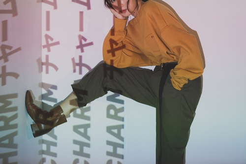pazzo look/   URBAN RESEARCH x PAZZO 日文刺繡車線大學T    +    URBAN RESEARCH x PAZZO 口袋刺繡長褲