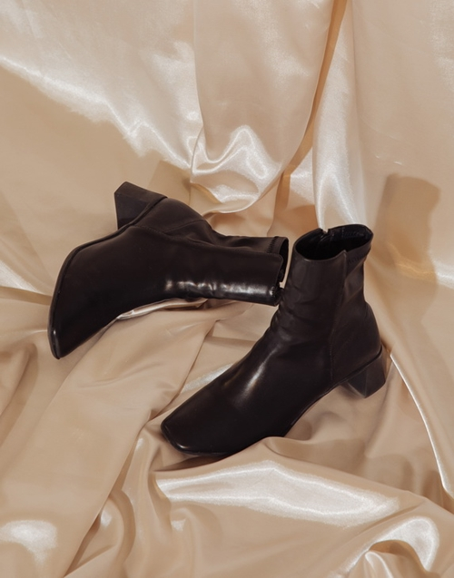 pazzo look/ 個性皮革中筒靴