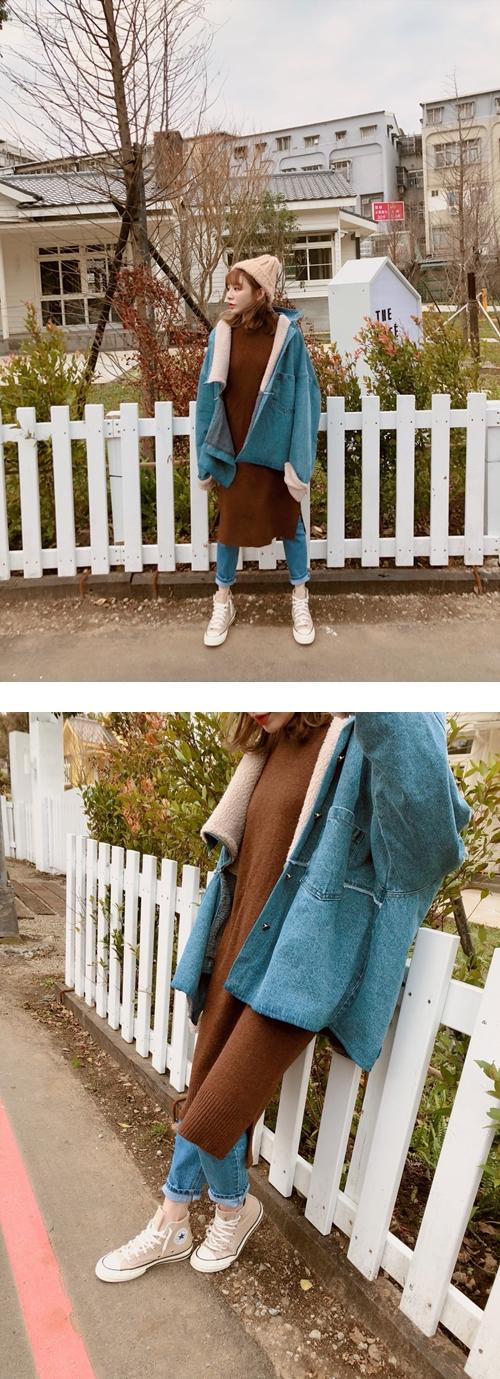 #最佳造型款 #可可色系 #好好摸舒適毛衣 #時髦經典