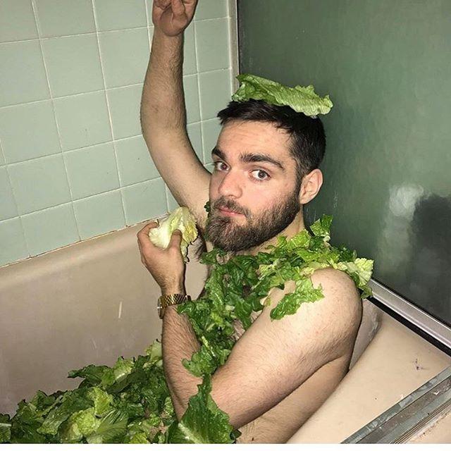 @greg_the_salad_man 😂😂😂😂 He deserves a follow the legend ! #saladgang