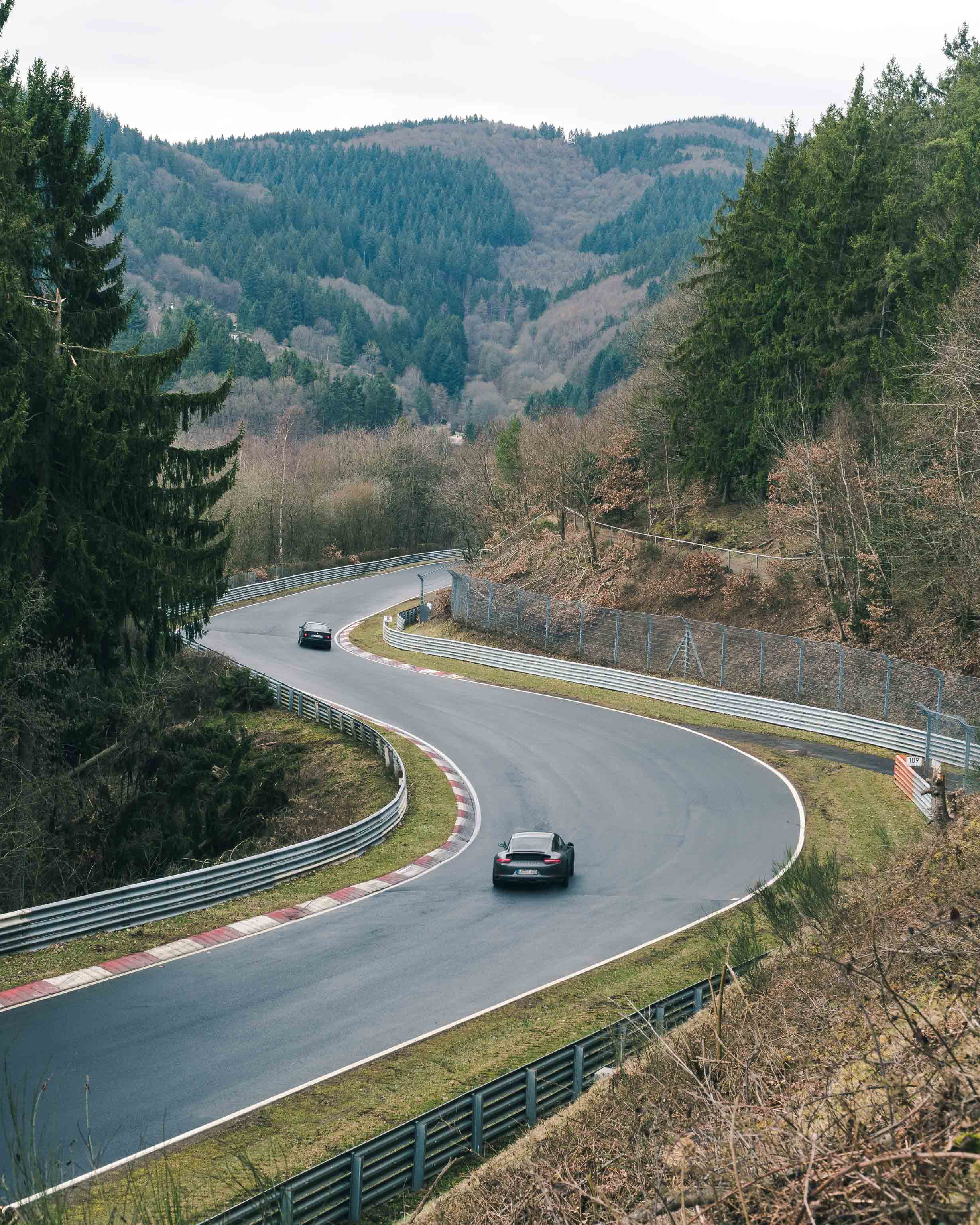 Chicane on the way to Miss-Hit-Miss