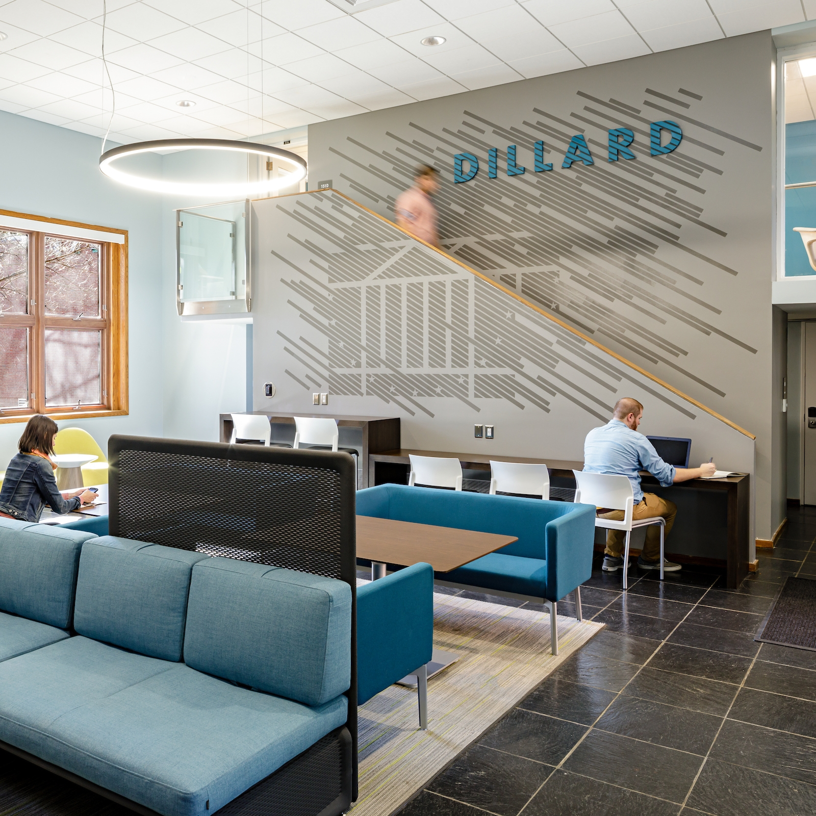 University of Virginia Gooch + Dillard Halls  Graphics
