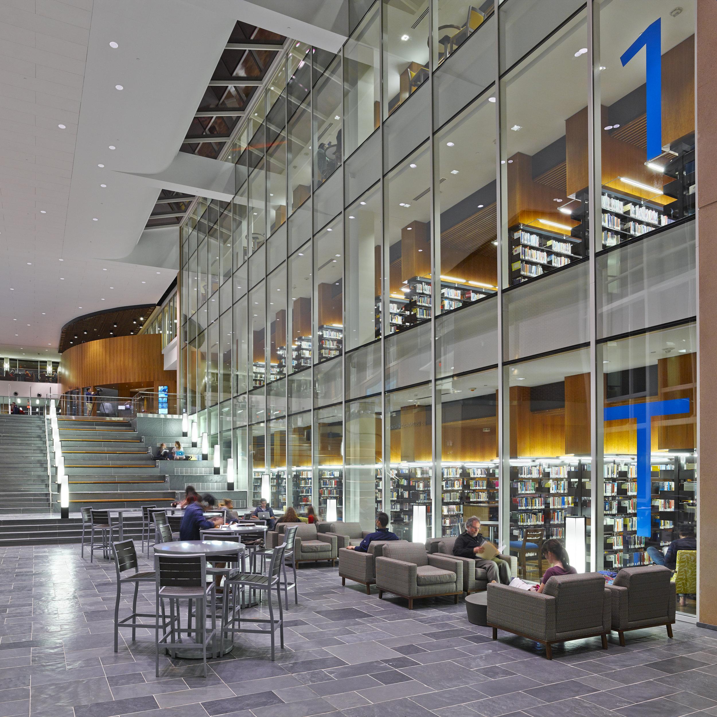 Liberty University Library  Signage + Wayfinding