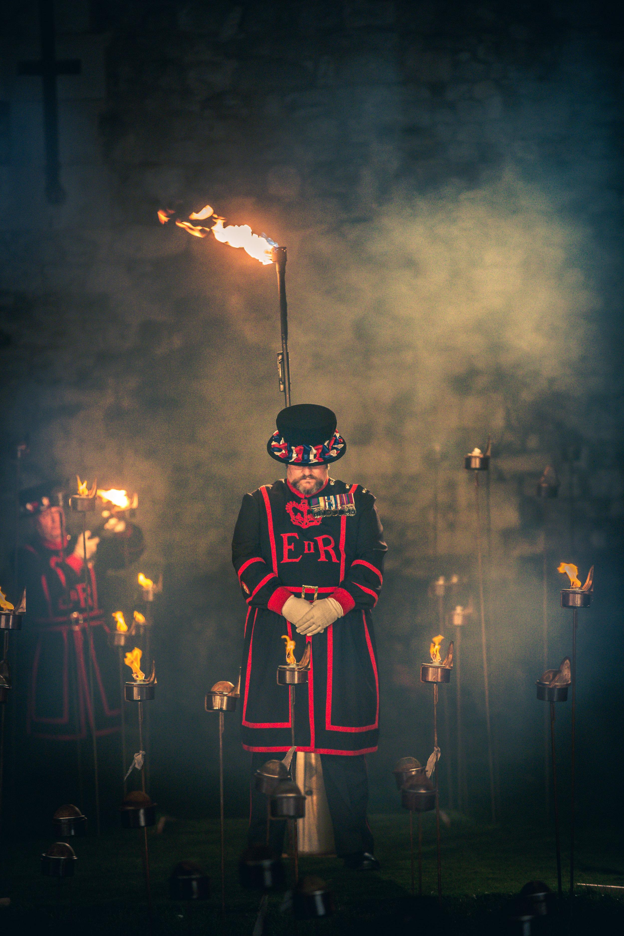 Tower of London Haze Effect - Photograph by Richard Lea-Hair © Historic Royal Palaces