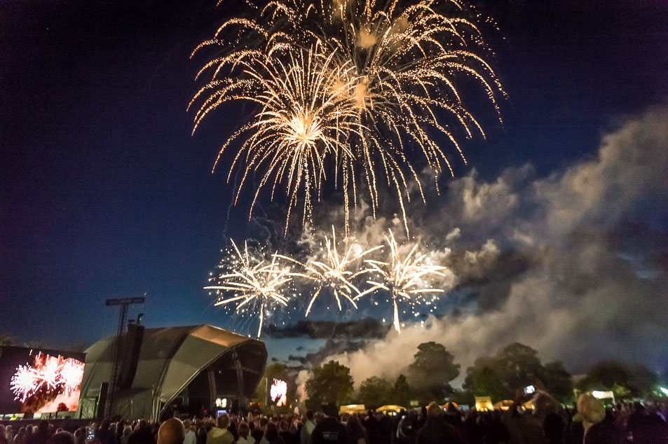 Glastonbury Extravaganza - For the last 4 years we have finished this extraordinary concert at Glastonbury Abbey with a firework finale for Michael Eavis and Glastonbury Festivals Limited