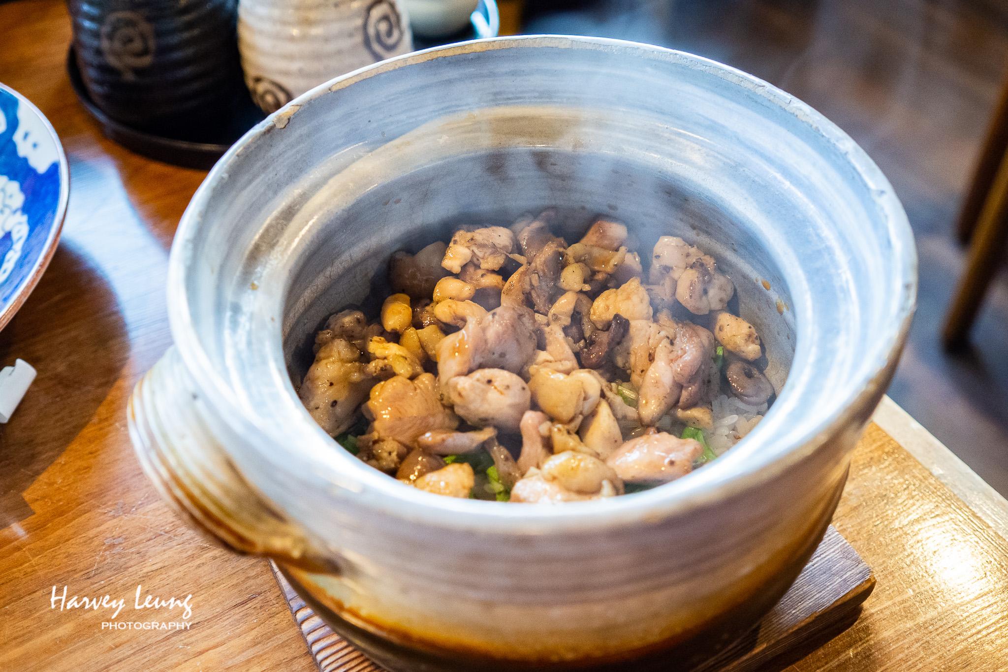 雞肉煲仔飯 (地鶏まぶし)