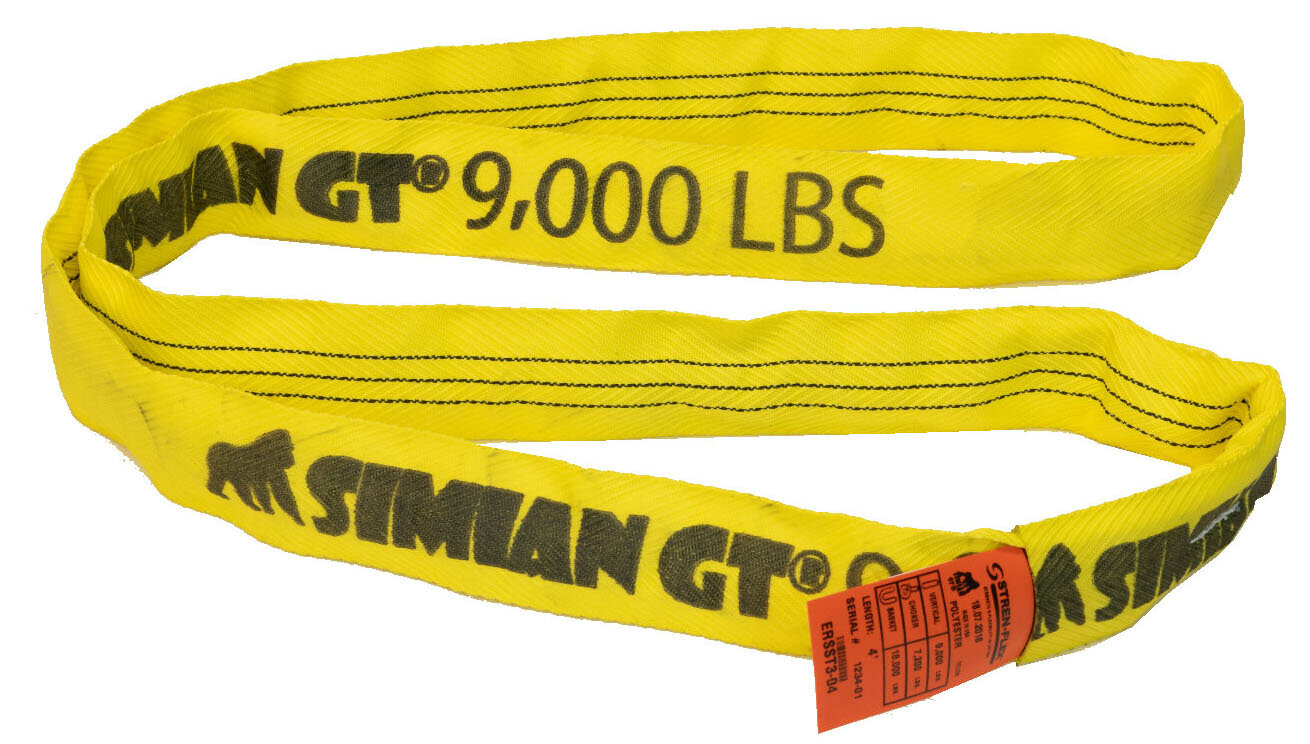 Stren-Flex SF1612G10DOSA Chain Sling 12 ft L 26 000 lb Load Lmt