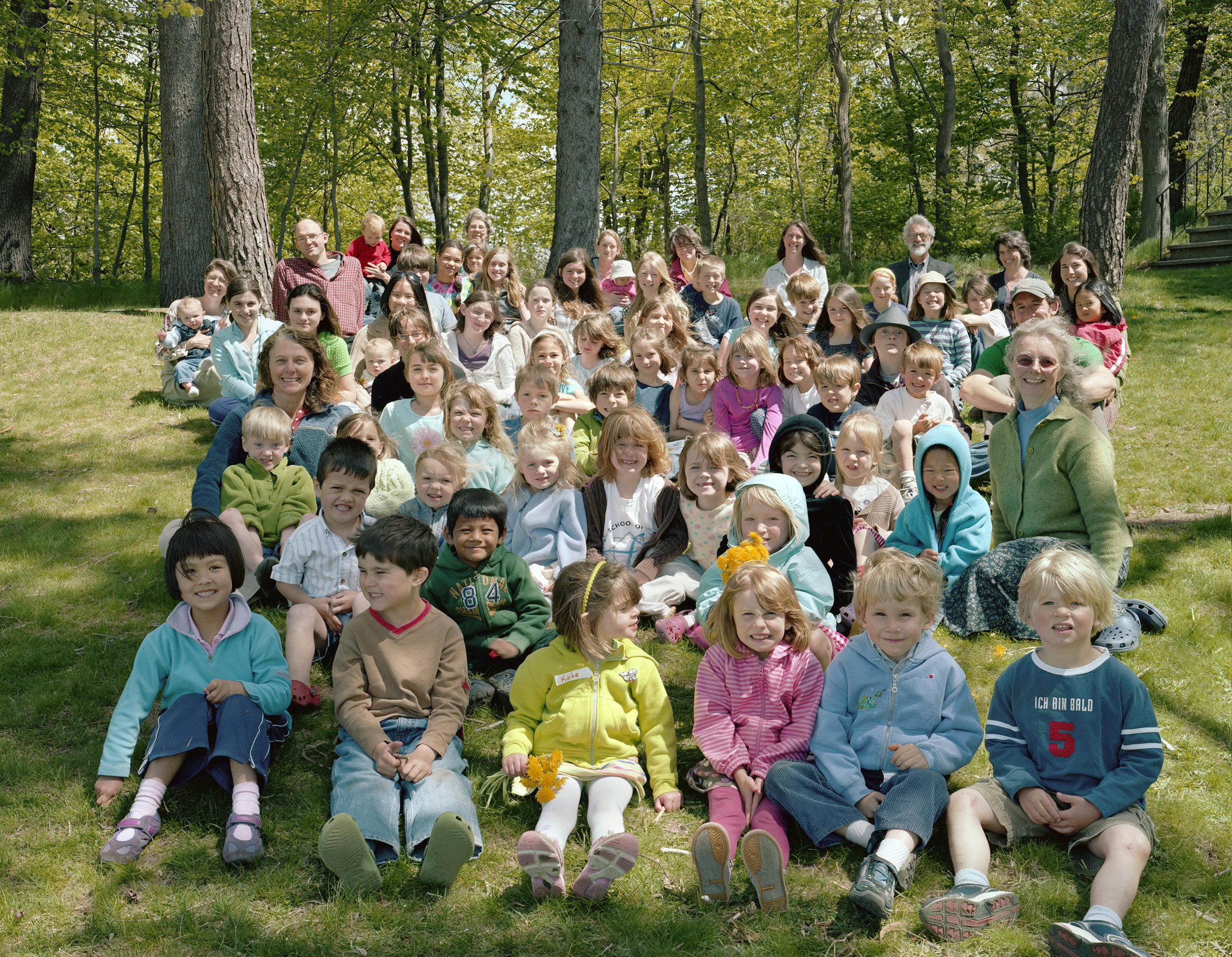 2007-2008 School Photo on Mackworth Island