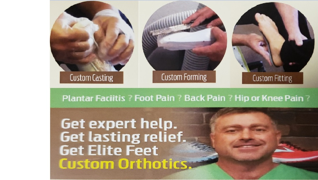 Custom Orthotics - Custom Orthotics can remedy numerous foot conditions: such as severely flat feet, fallen arches, or other podiatric pain. All Custom Orthotics are Uniquely Created In-House. Our sales staff begins by Custom Casting the foot, then our on-staff pedorthist Custom Forms the Orthotic, to Custom Fit each Individuals needs. On Average, Custom Orthotics are ready within a week!LEARN MORE