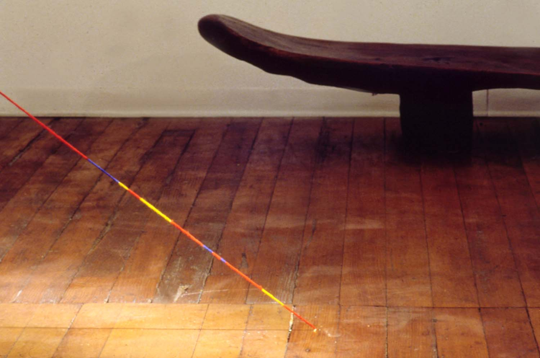 Sandback's studio, New York