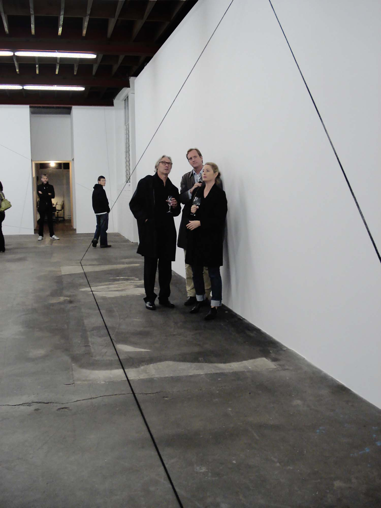 Jensen Gallery, Auckland, opening