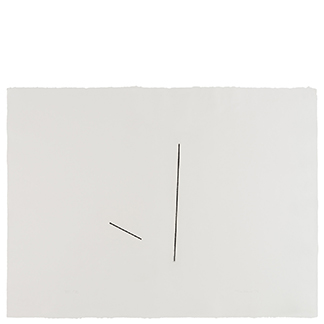 1976.18 Untitled [from <br>the series Four Variations of <br>Two Diagonal Lines]