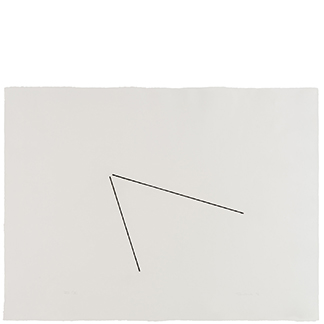 1976.20 Untitled [from <br>the series Four Variations of <br>Two Diagonal Lines]