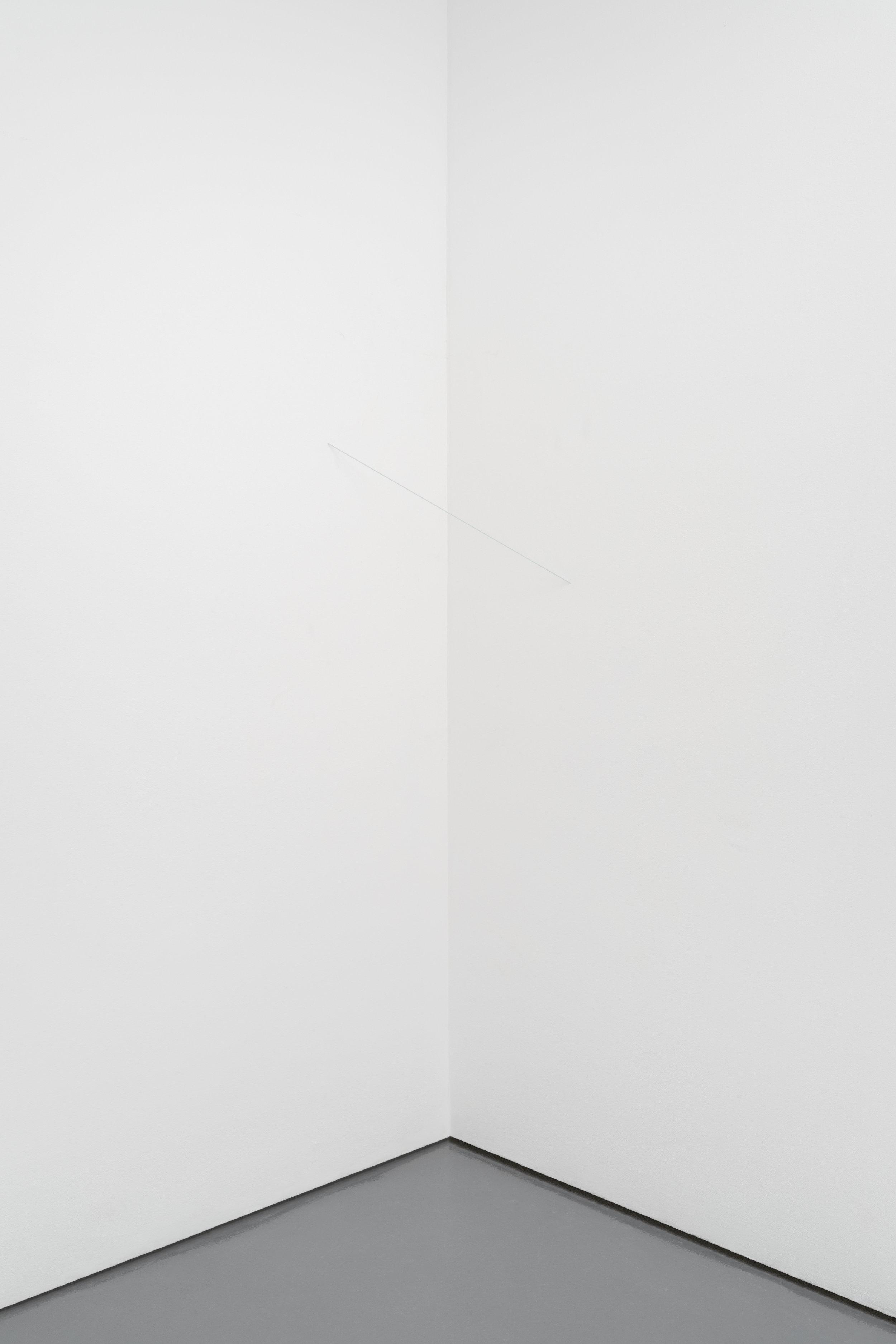 Untitled (Broken Line, Vertical Wall Construction)