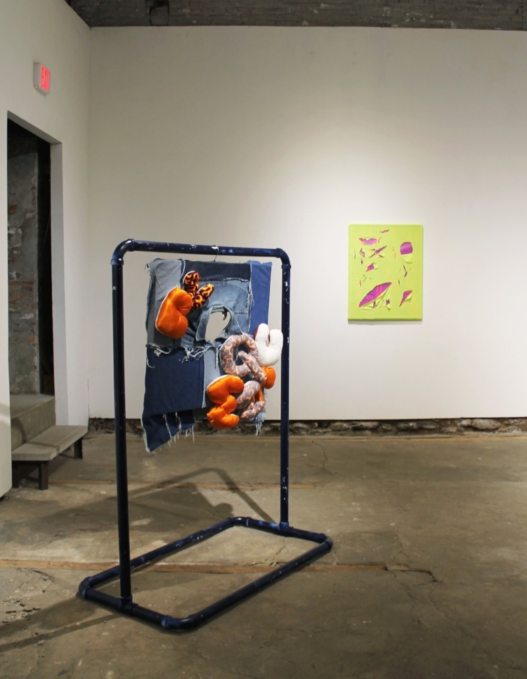 Installed at  Little Berlin  for  After School Special 's group exhibition VARSITY