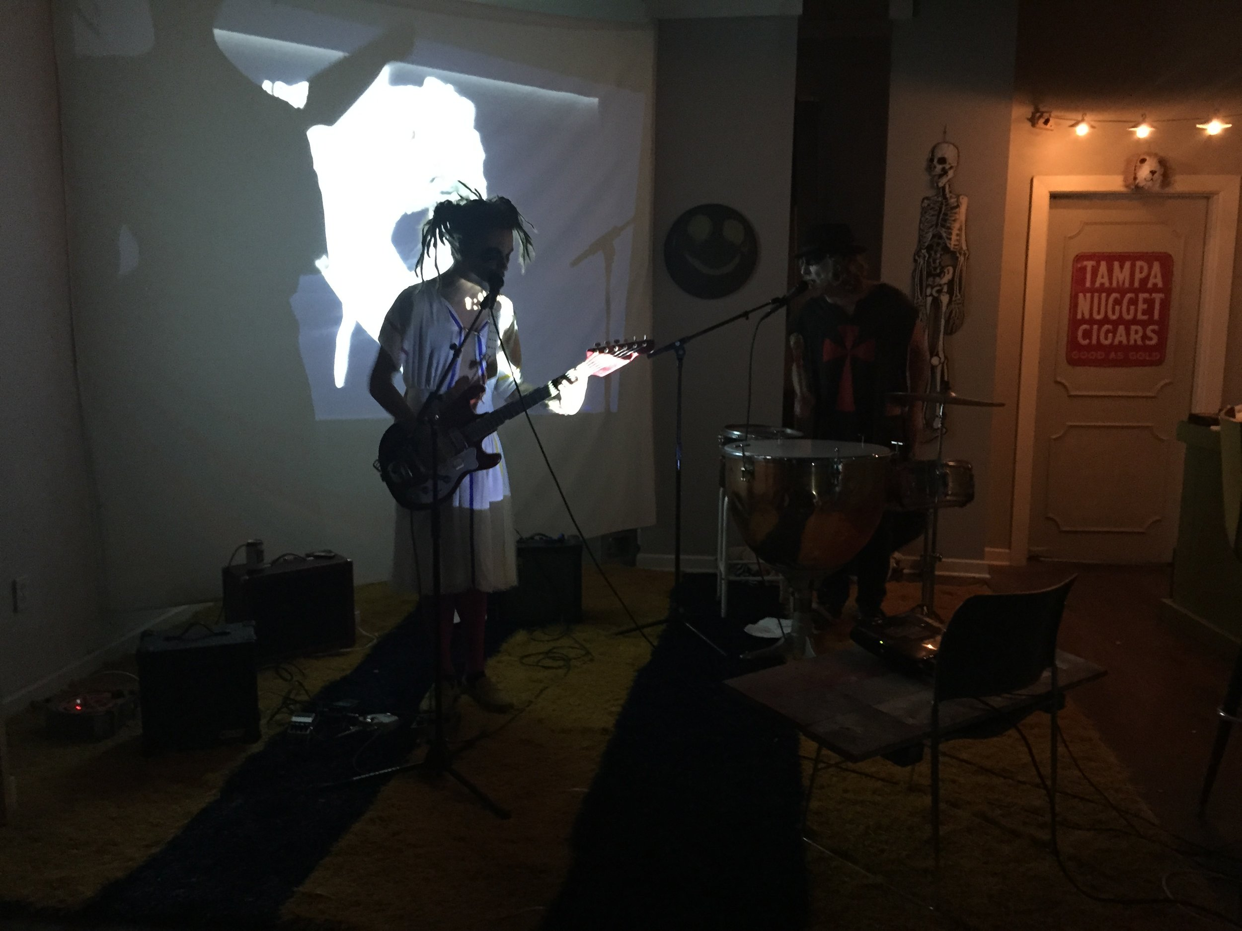 Performance at Lucky Cat for 00000 Ghoost $how VI