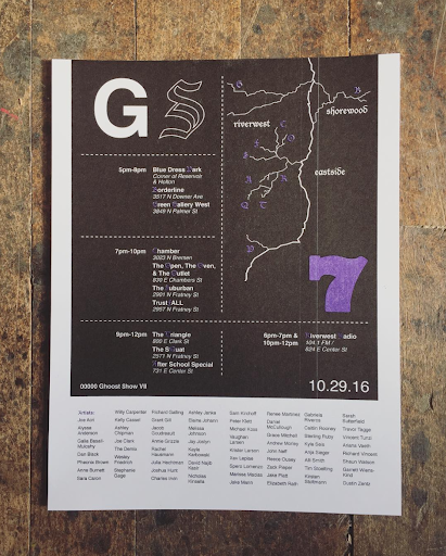 Map design 00000 Ghoost $how VII
