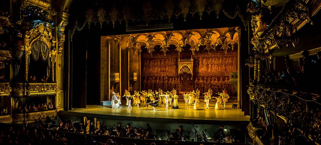 Photo is taken by Mariinsky Theatre