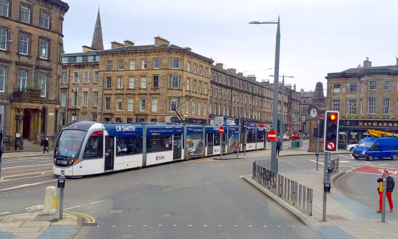 Trams are also covered by monthly pass