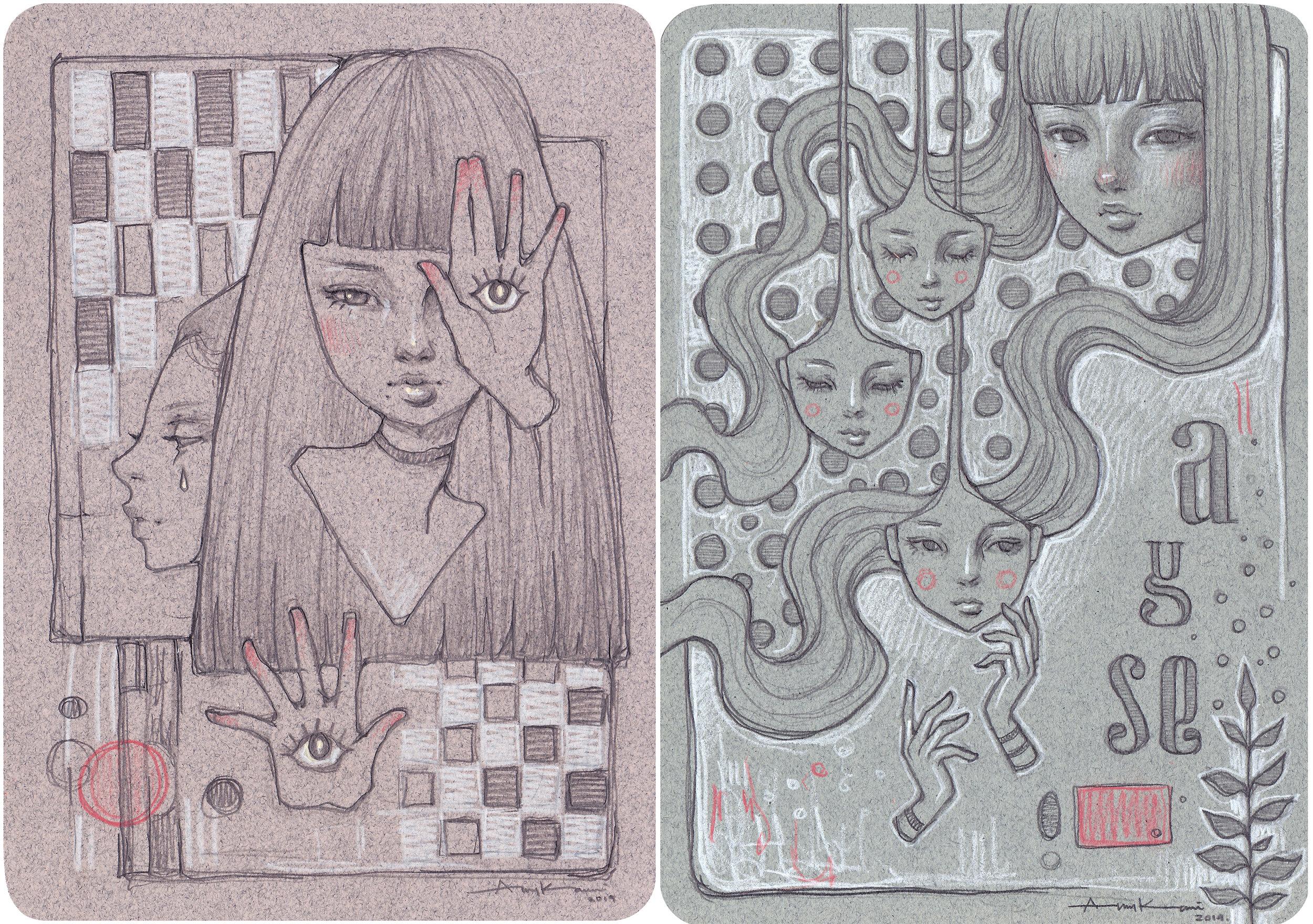 Rakugaki doodles
