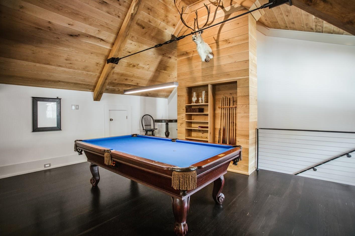 Wide Plank, White Oak Flooring, Ebonized
