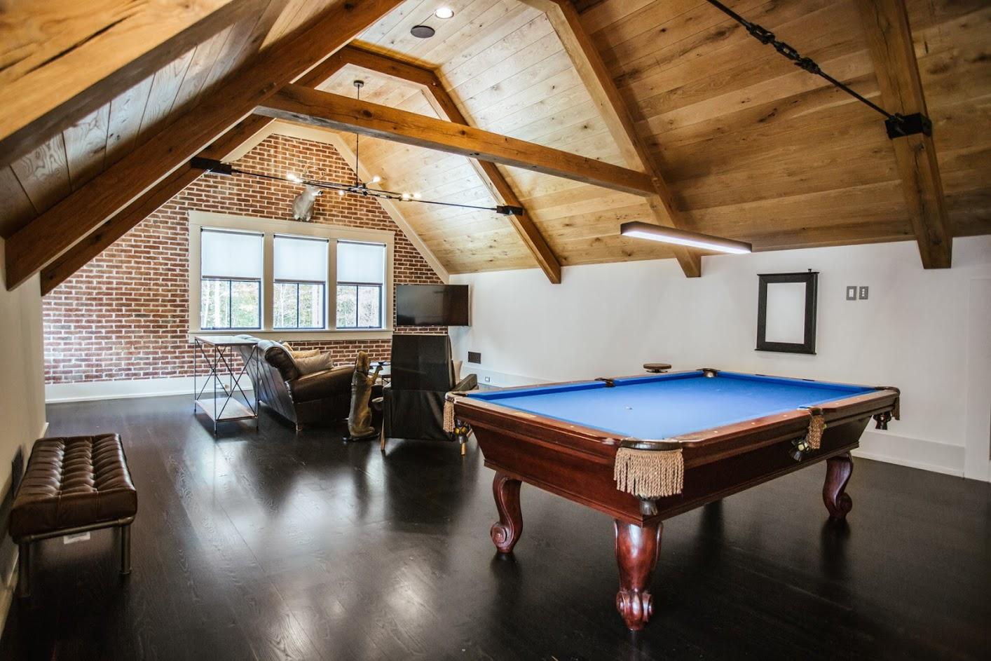 Ebonized, Wide Plank, White Oak Flooring